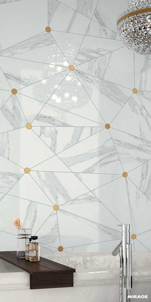 #Mirage #miragetiles #italiandesign #porcelainstoneware #jewels #marble #marbleeffect #interiordesign #homedecor #architecture #bathroom