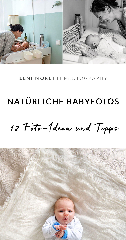 20 Foto Ideen für die ersten Wochen mit Eurem Baby zu Hause ...