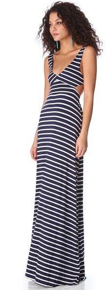 Rachel Pally Stripe Cutout Dress $238.00