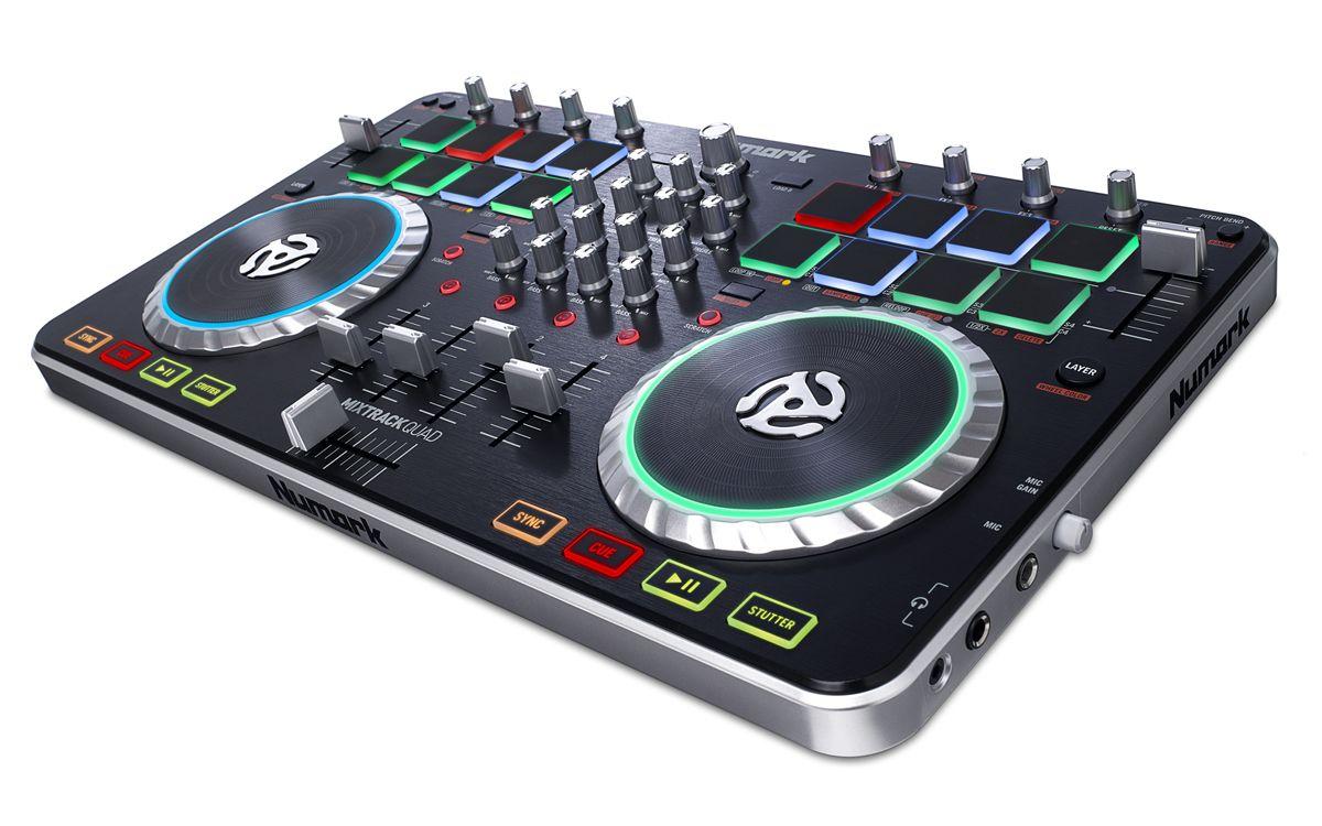 virtual dj compatible controllers