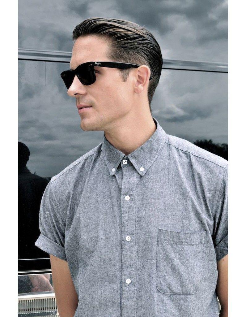 Coupe de cheveux homme court lunette