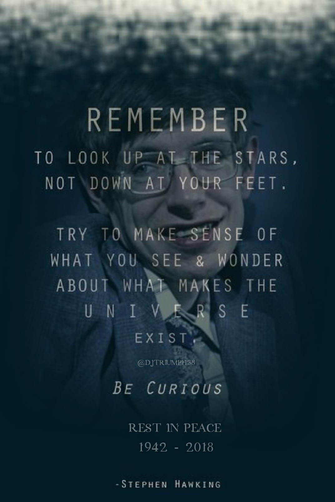 Imageremember To Look Up At The Stars Quotes Motivational
