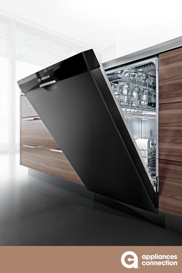 Bosch Shem78z56n 800 Series 24 Inch Black Built In Full Console Dishwasher Cool Kitchen Appliances Appliance Makeover Bosch