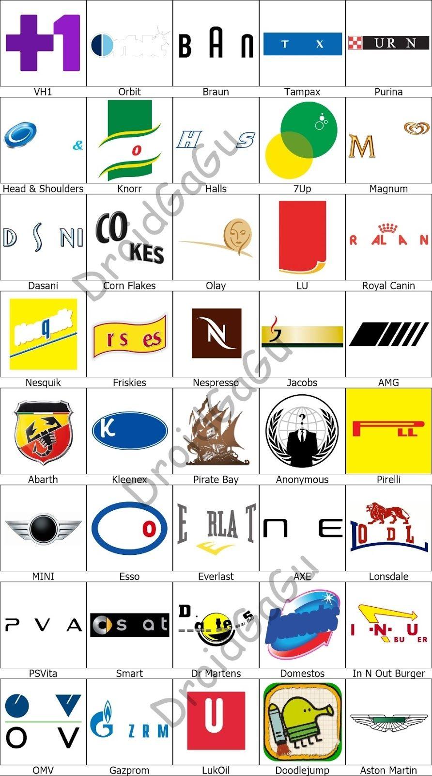 level 11 logo quiz answers bubble droidgagu quiz