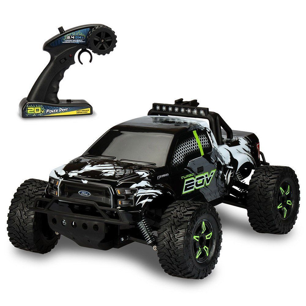 Electric Monster Truck Remote Control Car Boys Toys Children Rc