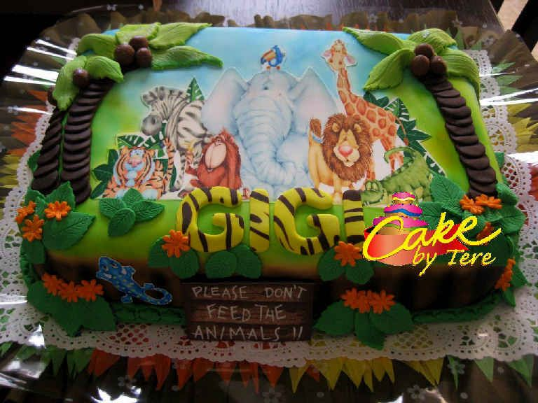party jungla cumpleaos selva ideas papeles infantiles sweet papers