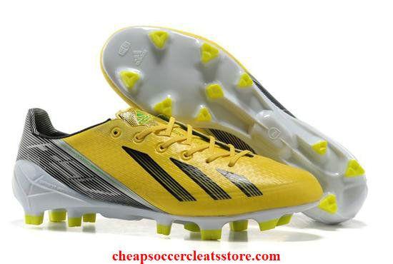 Adidas F50 adizero Messi TRX FG SYN corriendo amarillo blanco barato