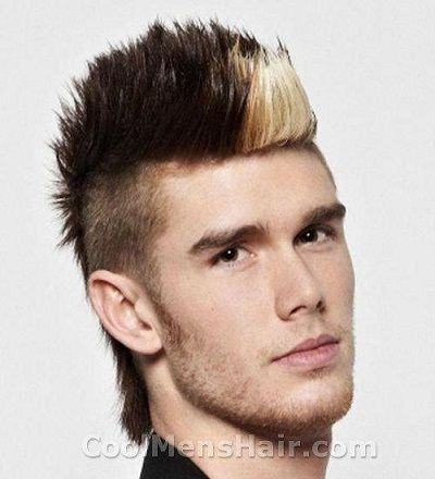 Cool hairstyle mohawk