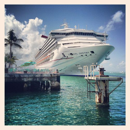 Carnival Cruise Lines Destiny Ship Key West Florida PortOfCall - Cruise lines from florida