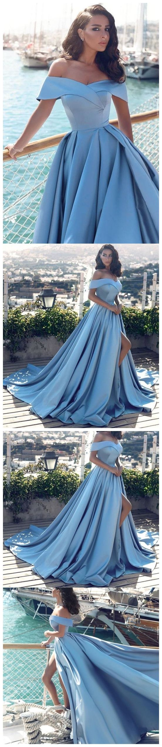 Off the shoulder maroon prom dresses simple cheap long prom dresses