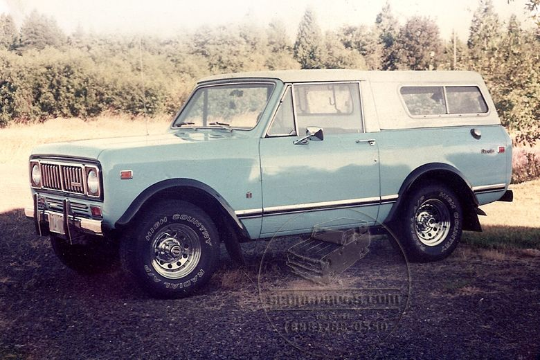 Tractor Fender Flares : International scout ii with fender flares