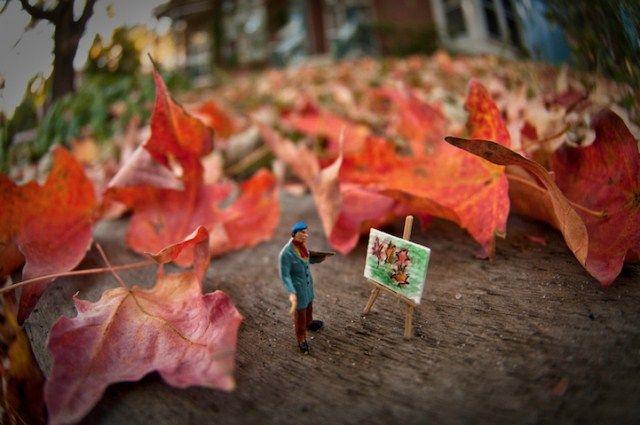 Foto di un mondo in miniatura di Kurt Moses