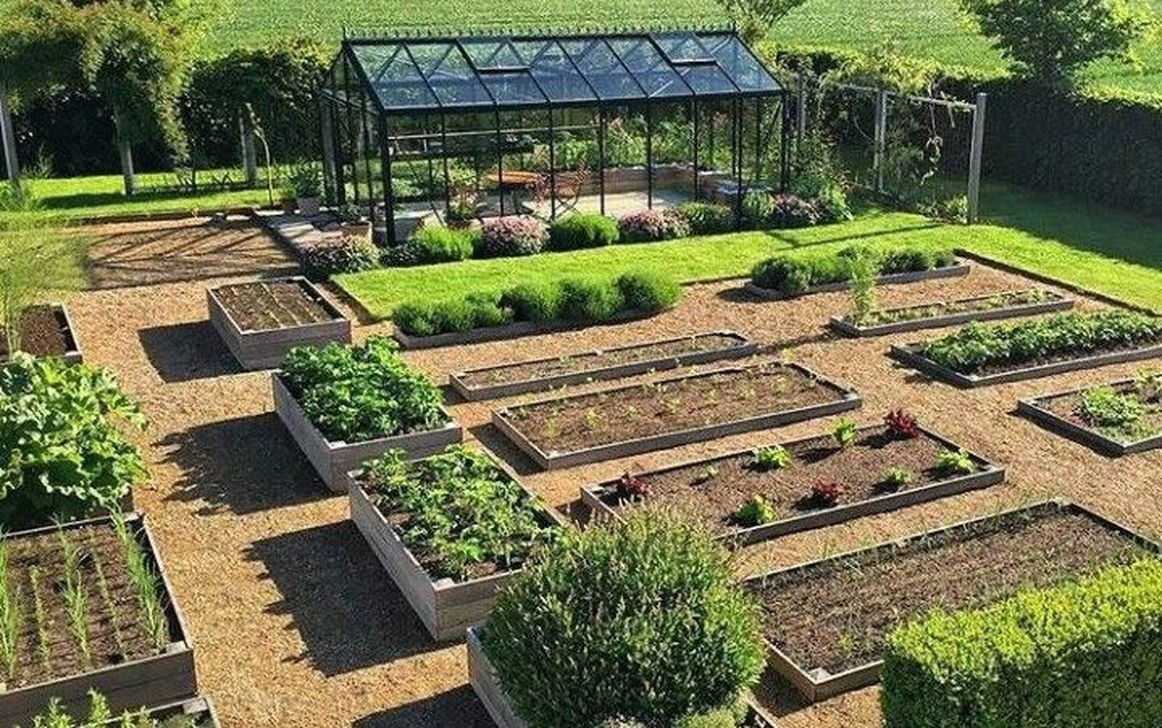 Gorgeous Vegetable Garden Design Ideas Frugal Living Backyard Garden Landscape Vegetable Garden Design Garden Design