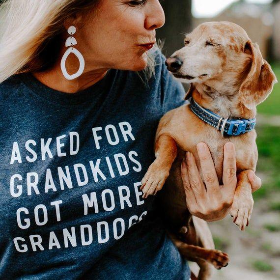dog grandma gift, granddog shirt, dog grandpa gifts, for dog lovers, rescue dog mom shirt, grand dog #grandpagifts