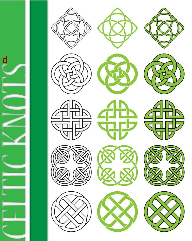 celtic knots. Norse block. Form drawing. | Very large sketchbook ...