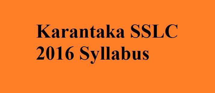 Karantaka sslc 2016 syllabus sslc result 2016 pinterest karantaka sslc 2016 syllabus malvernweather Image collections