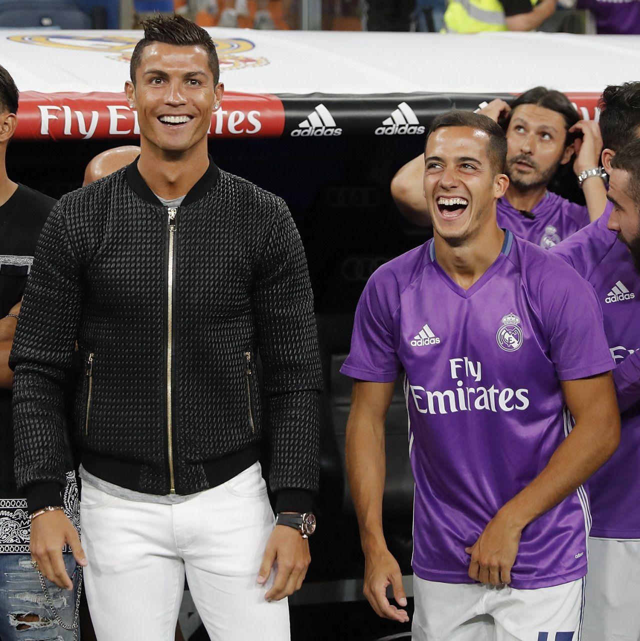 Cristiano Ronaldo And Lucas Vazquez