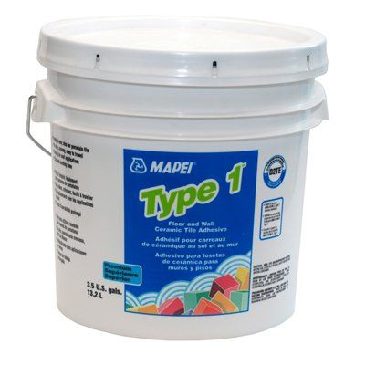 Mapei Type 1 35 Gal Floor And Wall Ceramic Tile Adhesive Tile