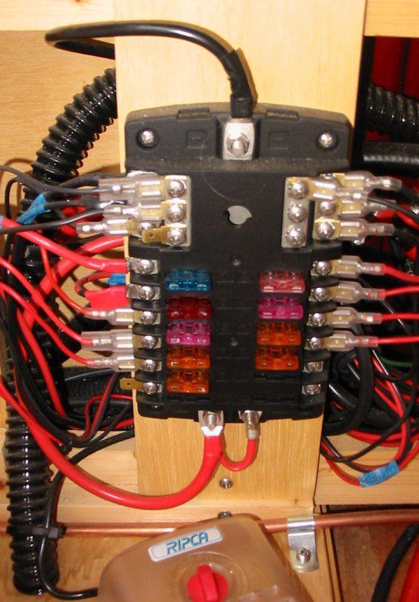 12 volt fusebox | motorhome, electricity, car camping  pinterest