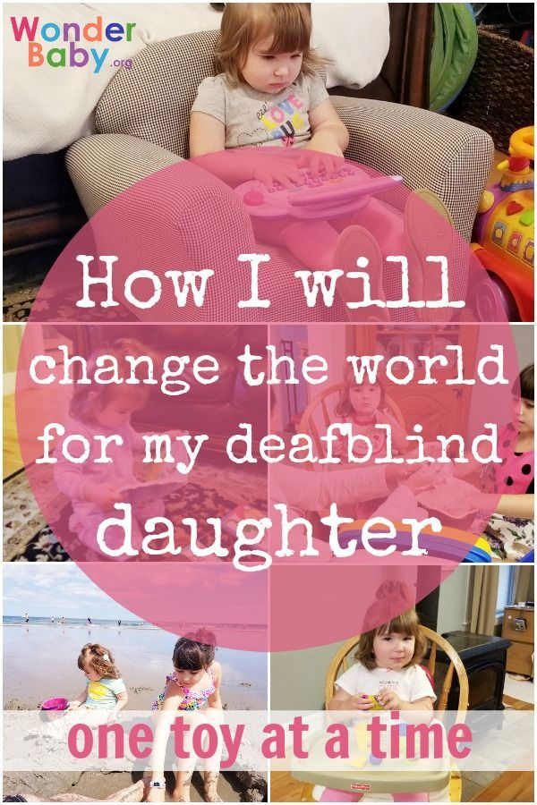 How I Will Change The World For My Deafblind Daughter One