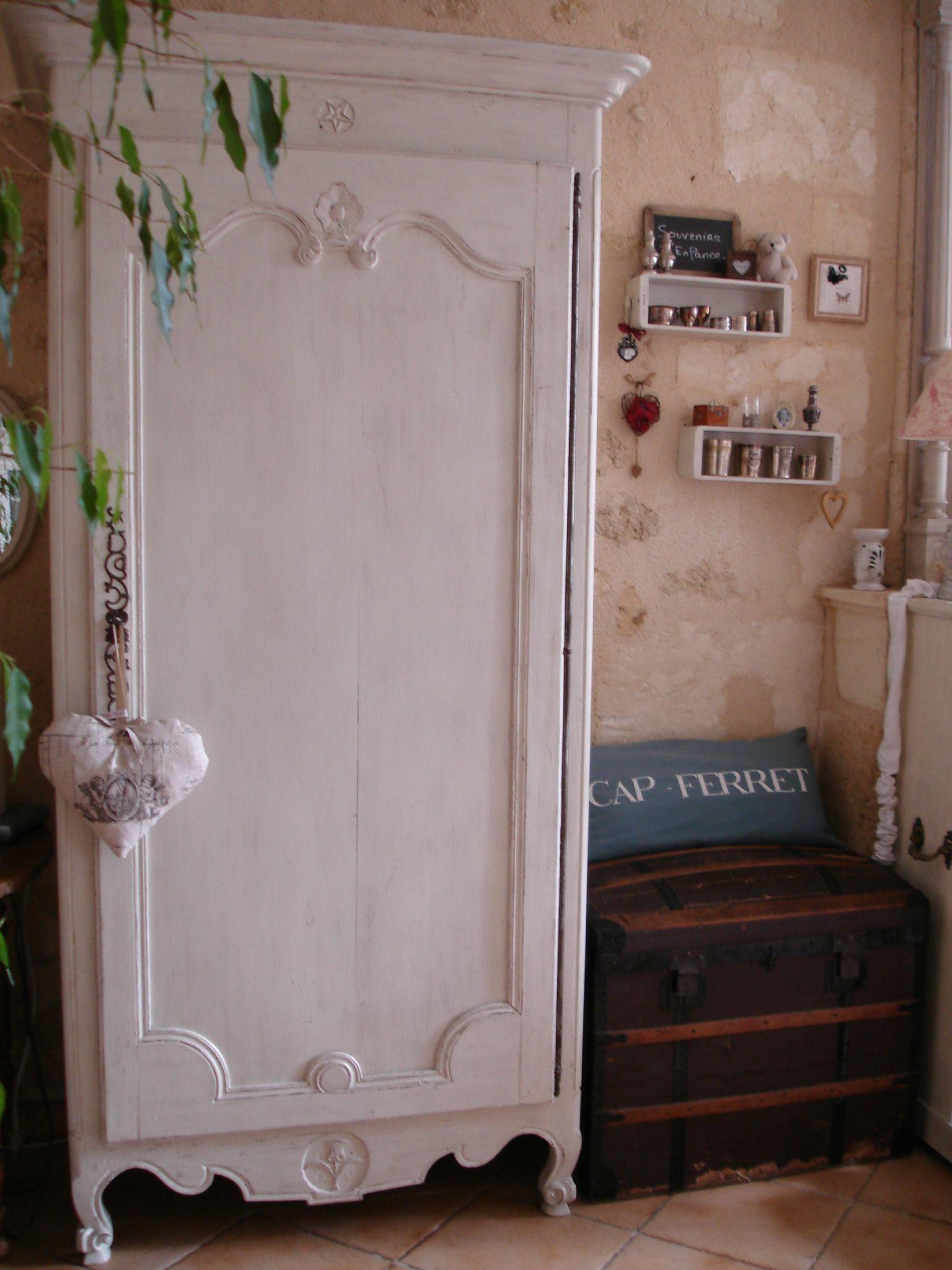 La Vie En Rose Bonnetiere Patinee Au Coeur D Autrefois Relooking Meuble Mobilier De Salon Relooker Meuble