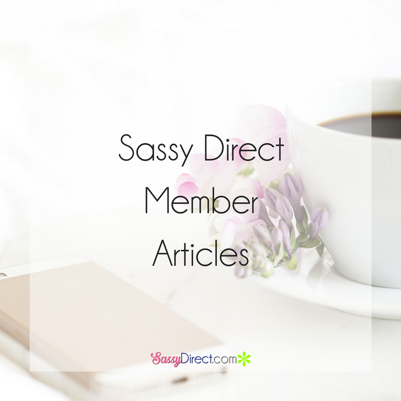 Pin by Sassy Direct on Sassy Direct Member Articles