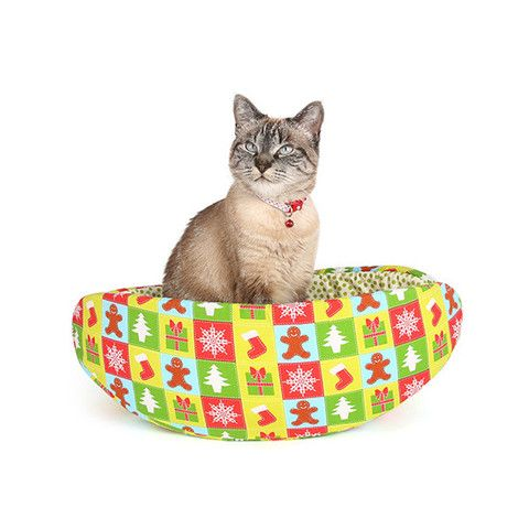 Christmas Cat Canoe