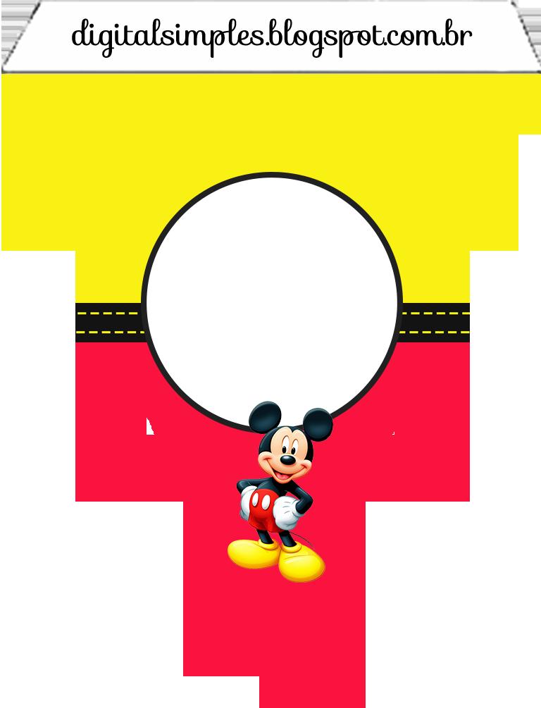 Banderines para Imprimir Gratis.   mickey y minnie   Pinterest ...