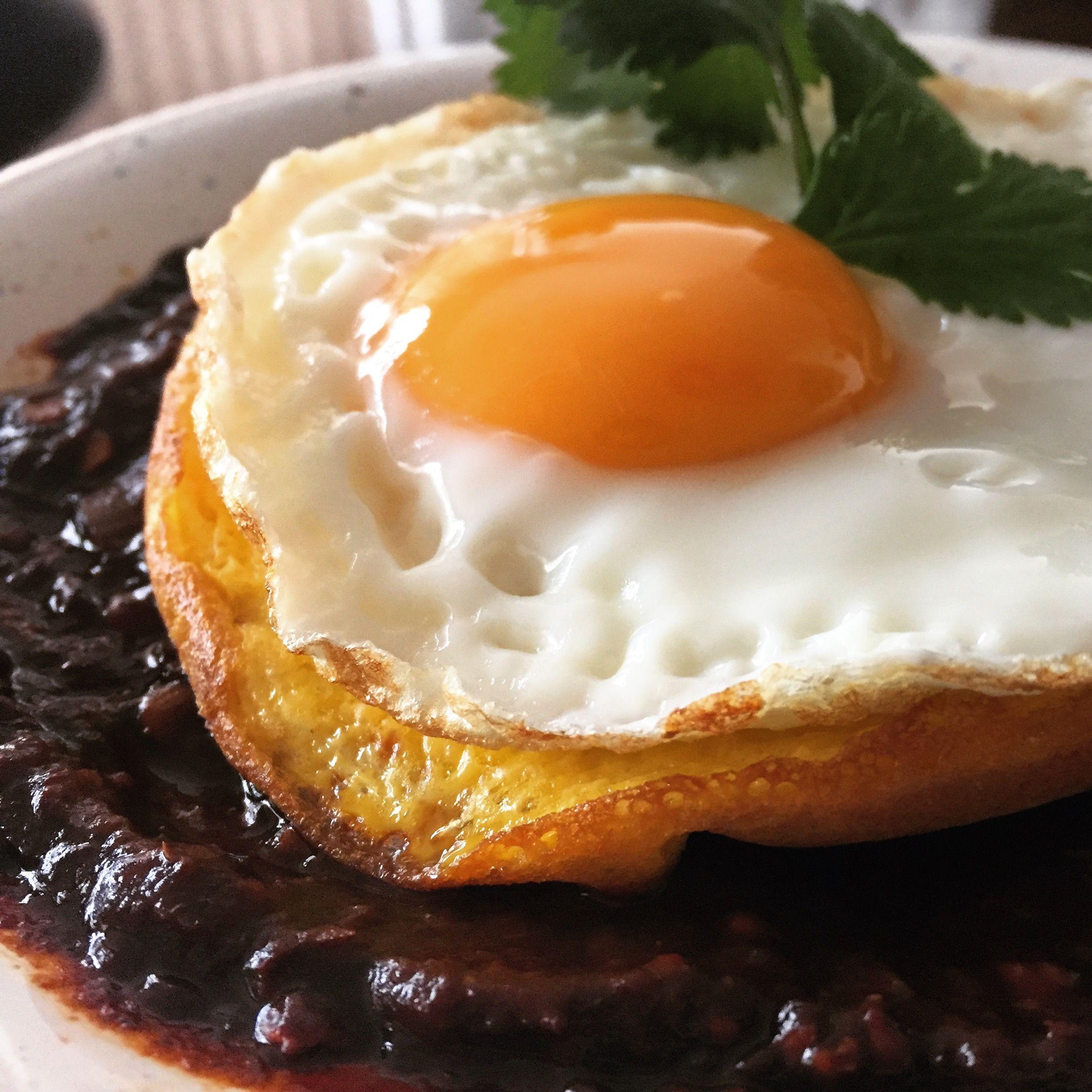 Huevos en salsa borracha