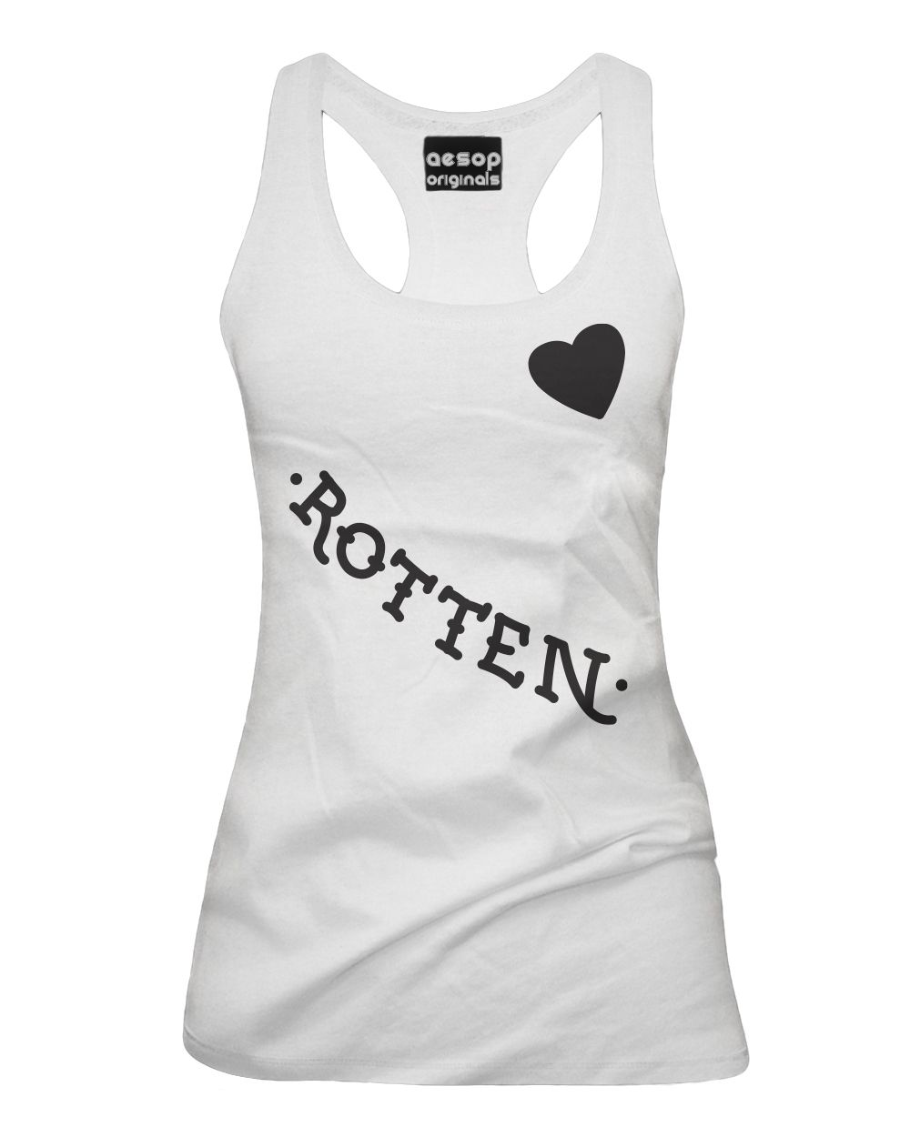 Harley Quinn's Rotten - Face Tattoos - Tank Top Aesop Originals Clothing (White)…