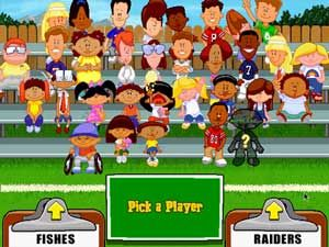 Backyard Football Video Game the first backyard football game. first video game i ever had. i am