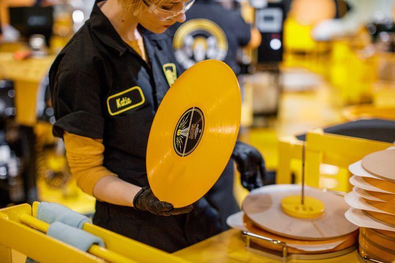 Photos Inside The Third Man Records Vinyl Pressing Plant Vinyl Vinyl Records The Third Man