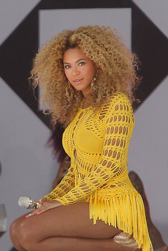 beyonce knowles hairstyles - celebrity
