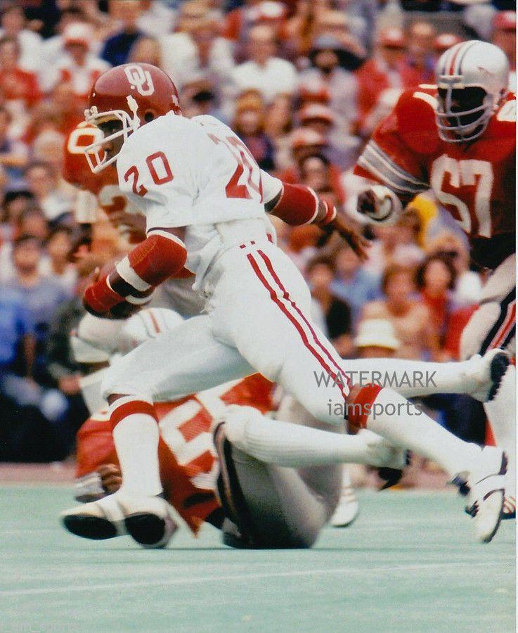 Billy Sims Oklahoma Sooners Jordan Football Jersey - Red