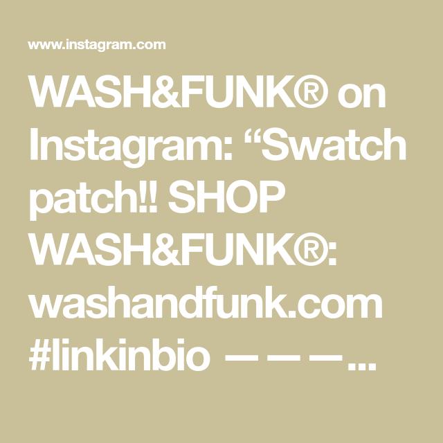 """WASH&FUNK® on Instagram: """"Swatch patch!! SHOP WASH&FUNK®: washandfunk.com #linkinbio ————————————— #washandfunk #genderless #apparel #clothingline #artfashion…"""""""
