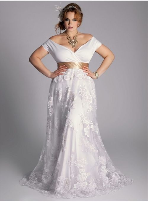 9865ac3b7d0 ... wedding dresses. Dress ideas for brides with large breasts and or  beautiful curvy hips! Perfect for Cambria except the bottom!
