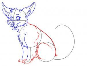 how to draw a cute animal step 4