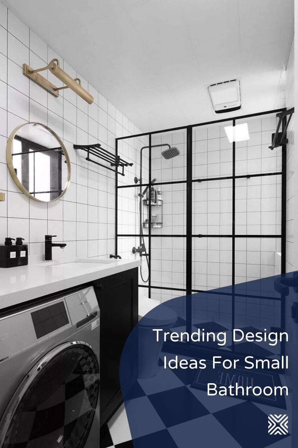 There S No Need To Keep A Small Bathroom Ordinary And Basic Just Try These Easy Storage So Small Bathroom Bathroom Design Decor Bathroom Makeovers On A Budget