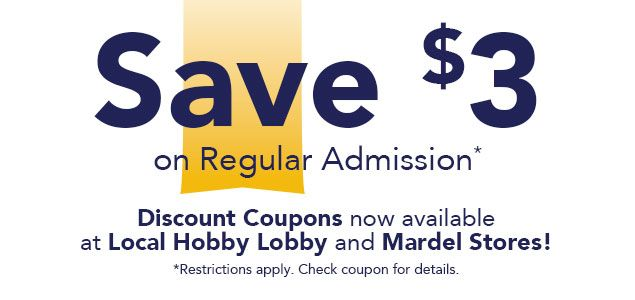 Planning a trip to the Passages Exhibit? Don't forget to visit an area Springfield Hobby Lobby or Mardel location to receive a $3 off coupon!