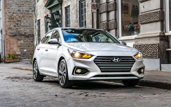 Indir Duvar Kagidi Hyundai Accent Hatchback 4k 2018