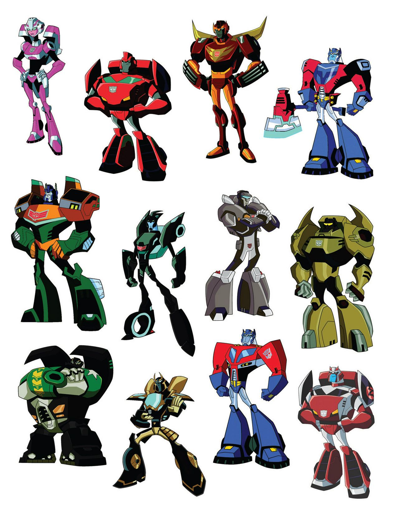 transformers animated autobots from quottransformers
