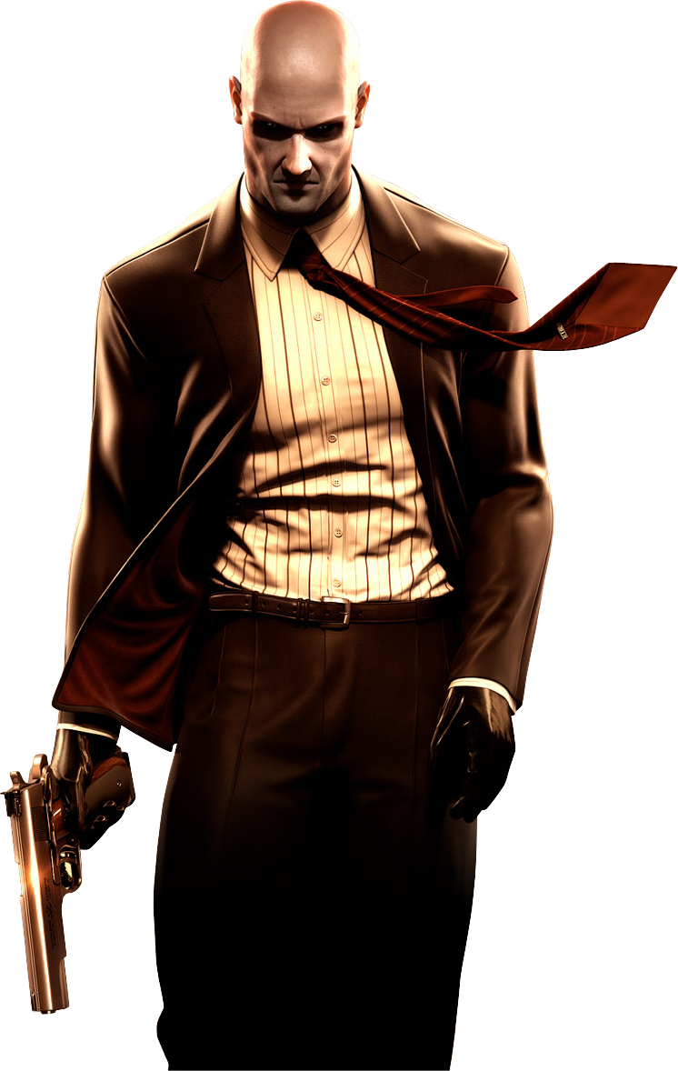 Agent 47 Voiced By David Bateson The Iconic Cloned Superhuman Cleaner With The Barcode In The Back Of His Head Hitting Only Hitman Agent 47 Hitman Agent 47
