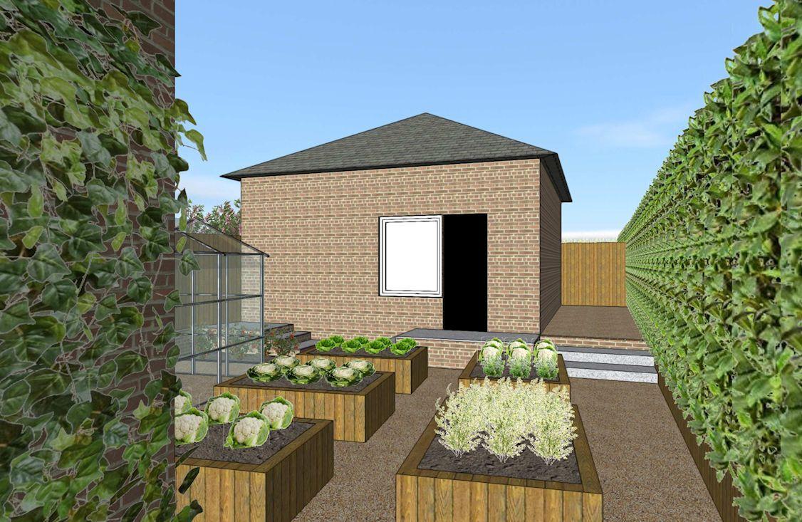 Garden Design, Peppard, Oxfordshire in 2020   Garden ...