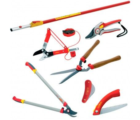 Gardening Tools   WOLF Garten Tree Shrub Pruning Kit   BlueStoneGarden