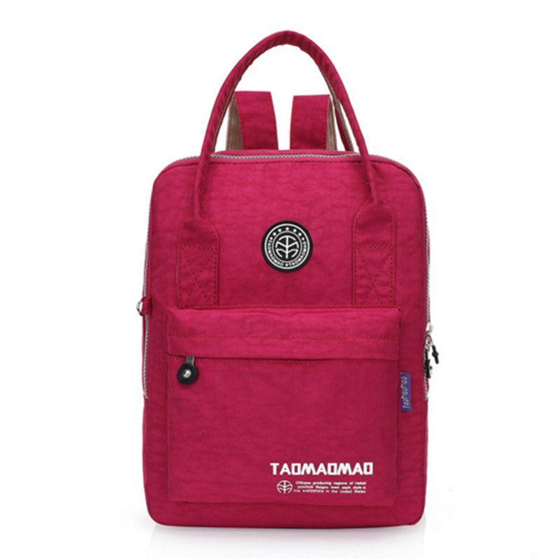 2017 New Women Backpack Waterproof Nylon 8 Colors Lady Women s Backpacks  High Quality Female Casual Travel Bag shoulder bag   Backpacks   Pinterest  ... d09bead68a