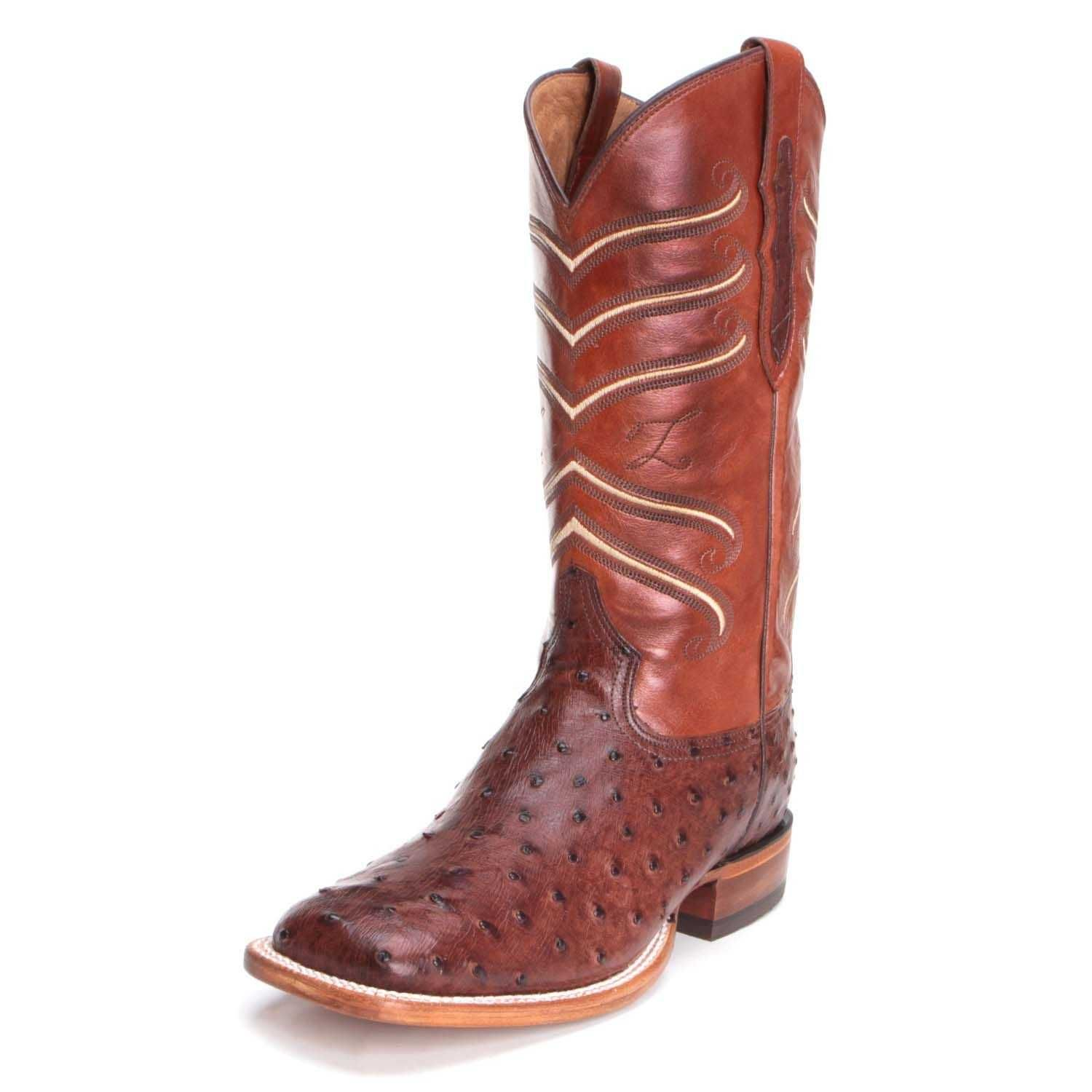 e9a593caf78 Tony Lama Mens Lemuel Full Quill Ostrich Boots CL821 in 2019 ...