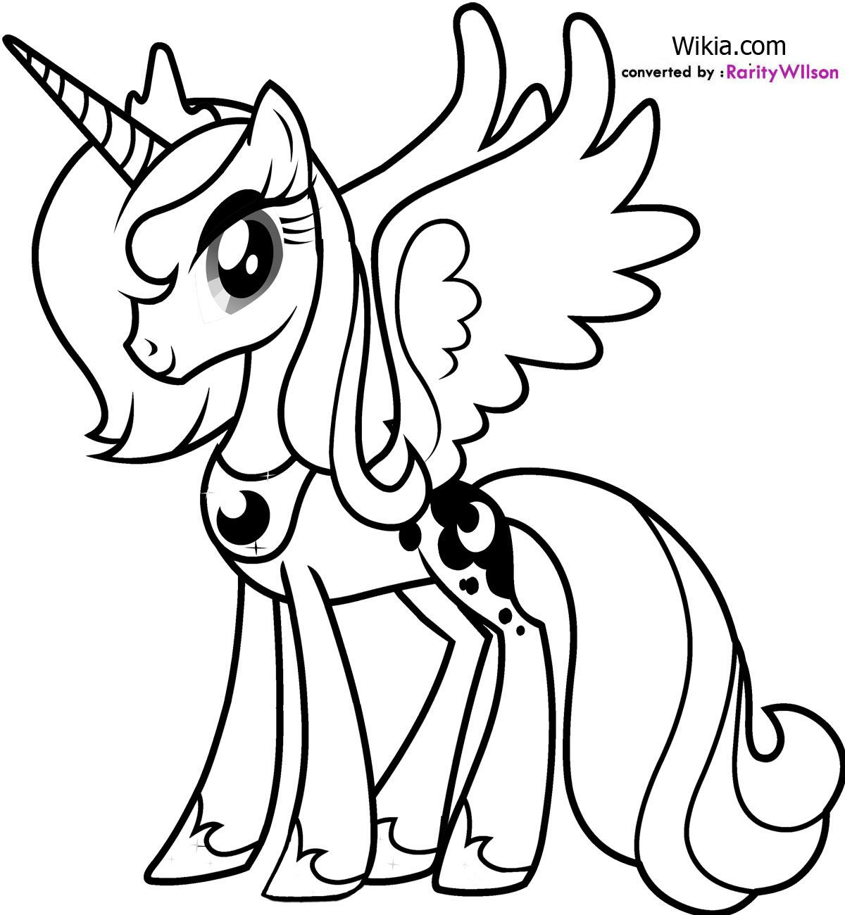 My Little Pony Prinzessin Celestia Ausmalbilder : My Little Pony V Rityskuvat Google Haku Just Because Pinterest