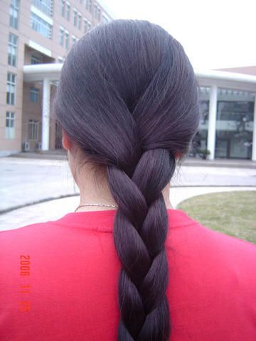 Hairstyles For Long Hair S In Hindi : Braid close up 2