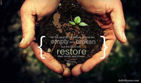 Nahum 2:2 | Life verses, Restoration, Verse