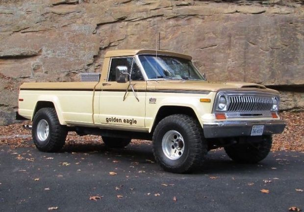 Golden Eagle 1978 Jeep J10 4x4 Pickup Jeep Pickup Jeep Golden